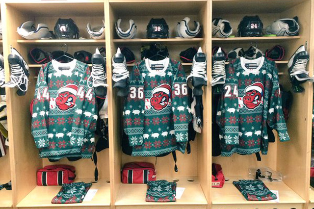 LOOK: Minor league hockey teams get festive with ugly Christmas ...