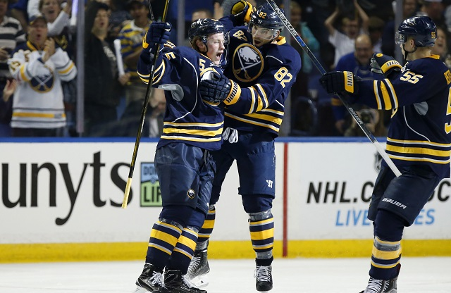 wholesale dealer bba8a 7783e Worst to First Jerseys: Buffalo Sabres | Hockey By Design