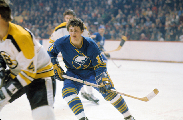 The original Buffalo Sabres uniform. (USATSI)
