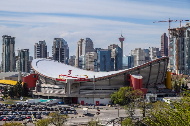 The Saddledome's days may be numbered as Flames announced plans for a new arena. (USATSI)