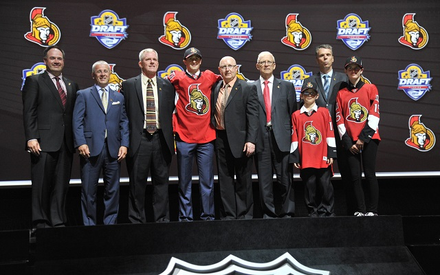 The Ottawa Senators front office is going through a shakeup. (USATSI)