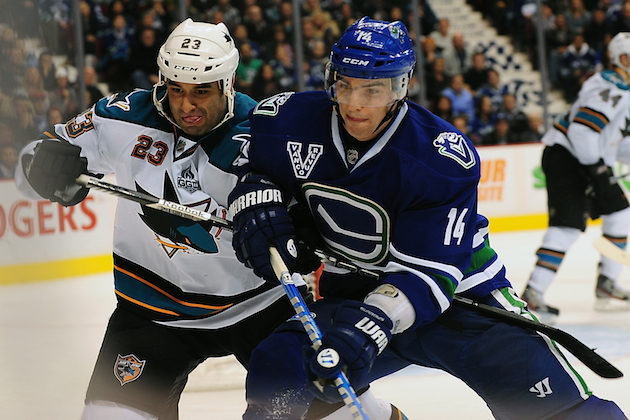 Will this be the year for the Sharks or Canucks to win the Stanley Cup? (USATSI)