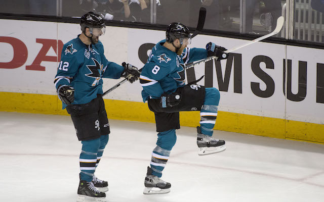 The San Jose Sharks are moving on to the Western Conference finals. (USATSI)