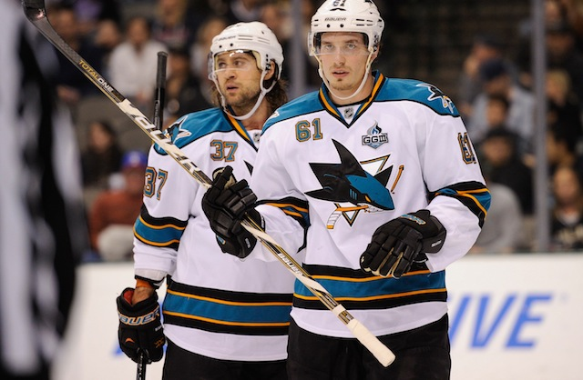 No team will travel more miles in 2013-14 than the San Jose Sharks. (USATSI)