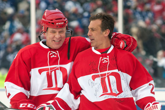 Slava Fetisov (left) wants to ban young Russian players from playing in the  NHL d370741764d