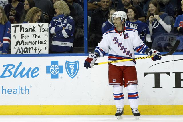 Martin St. Louis retired after 16 NHL seasons. (USATSI)
