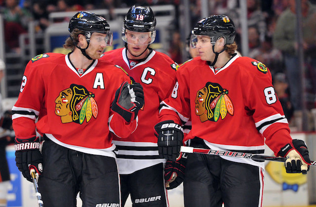 Jonathan Toews and Patrick Kane have been a great duo for the Chicago Blackhawks. (USATSI)