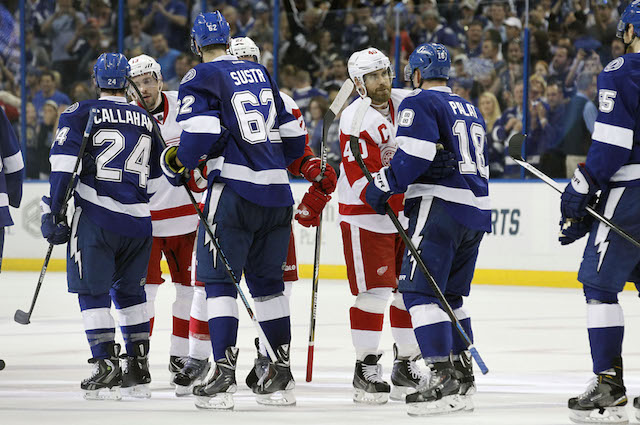 The Tampa Bay Lightning are beating all of the Original Six teams. (USATSI)
