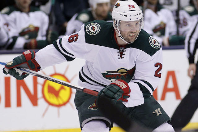 The decline of Wild F Thomas Vanek