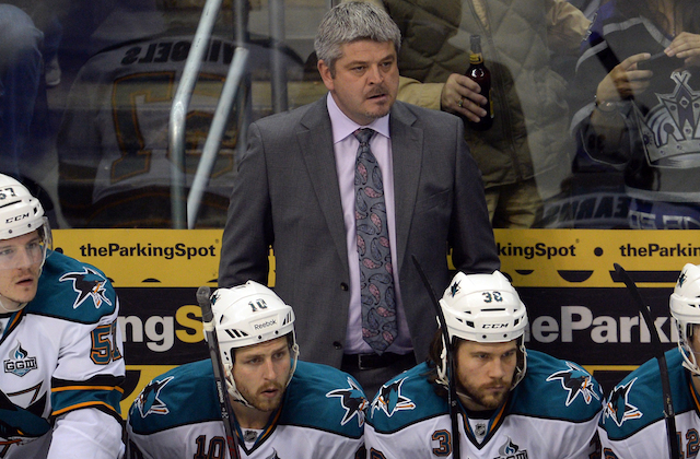 Todd McLellan will be back behind the bench in San Jose. (USATSI)