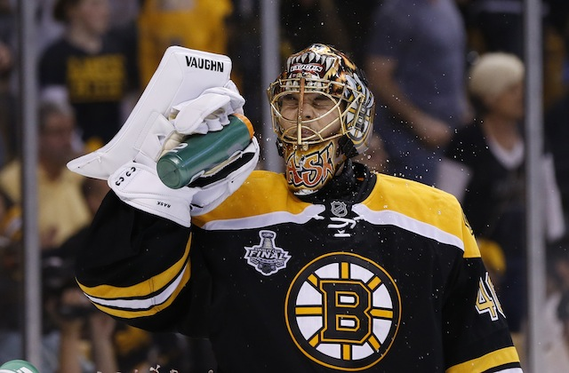 Tuukka Rask signed a huge contract with the Bruins. Will he be worth it? (USATSI)