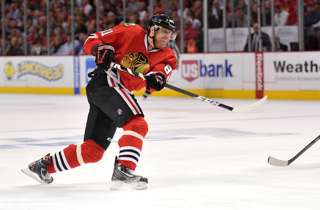 Marian Hossa is a big reason the Blackhawks will win the Cup. (USATSI)