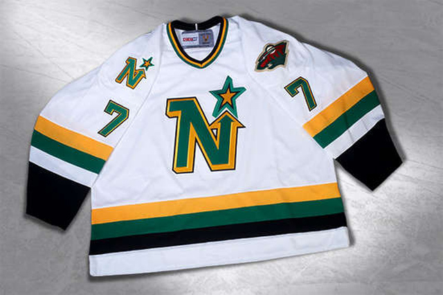 new style 4c852 4c85e LOOK: Wild revive North Stars jerseys for Stadium Series ...