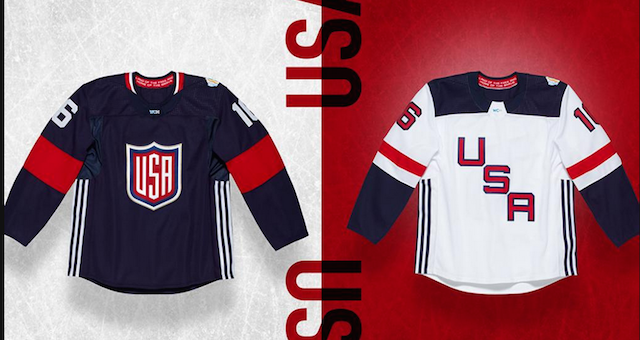 LOOK  Here are all the 2016 World Cup of Hockey jerseys - CBSSports.com aa4c49639bd