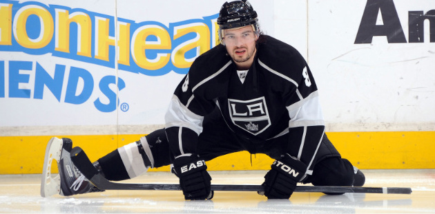 Drew Doughty has yet to score a goal for the Los Angeles Kings this season. This should not be a concern. (Getty Images)
