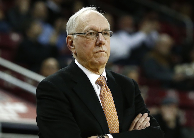 Syracuse to vacate wins, lose 12 scholarships; Boeheim suspended