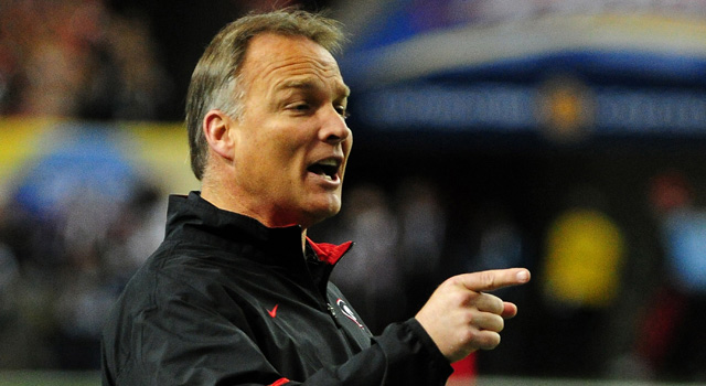 Mark Richt isn't sold on an early signing period. (Getty Images)