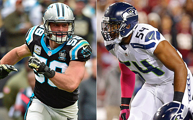 online retailer 19b32 01bfb After Further Review: Comparing top LBs Luke Kuechly, Bobby ...