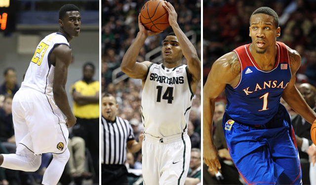 Jabari Bird, Gary Smith, and Wayne Selden can boost the NBA shooting guard position.(USATSI)