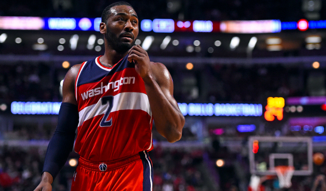 The Wizards absolutely can't afford to lose John Wall.  (USATSI)