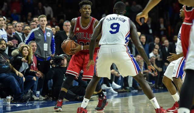 Jimmy Butler gets buckets. (USATSI)