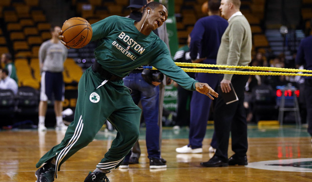 Rondo will get some game time before he returns to the Celtics. (USATSI)