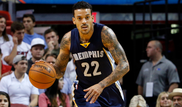 Matt Barnes and the Grizzlies face the Knicks on Saturday.  (USATSI)