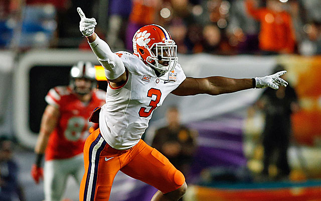 Vic Beasley led the ACC with 13 sacks and finished second with 23 tackles for a loss. (USATSI)