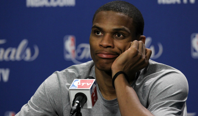 Image result for russell westbrook disappointment
