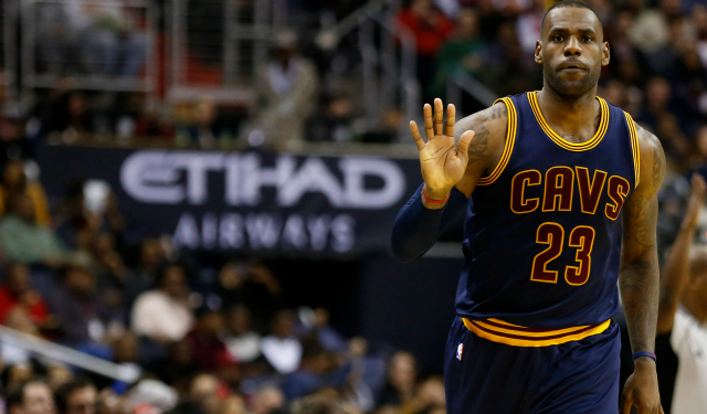LeBron James is an All-Star starter once again.  (USATSI)