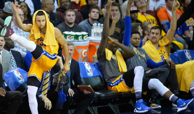 Stephen Curry will represent the best team in the league in Toronto.  (USATSI)