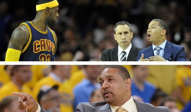 A weird coaching triangle reportedly hung over Cleveland.  (USATSI)