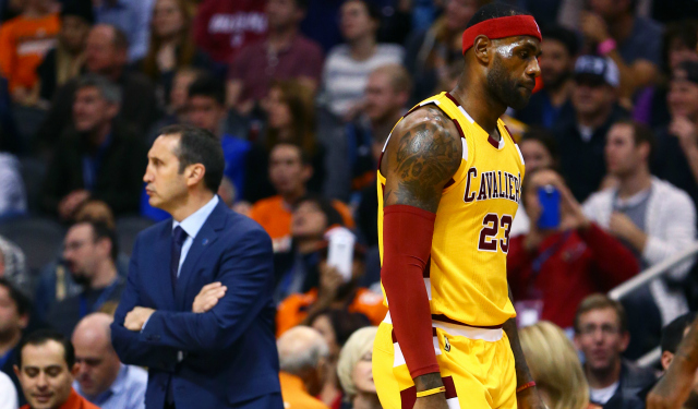 LeBron James says he was caught off guard by David Blatt's firing.  (USATSI)