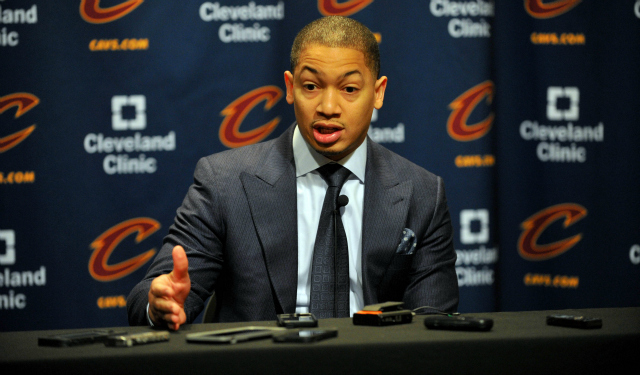 New coach Tyronn Lue wants the Cavs to pick up the pace.  (USATSI)