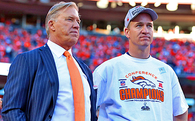 The most important acquisition of John Elway's tenure is Peyton Manning.  (USATSI)