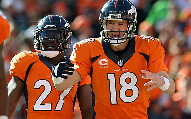 The Broncos evolved into a top-five offense in Peyton Manning's first year.  (USATSI)