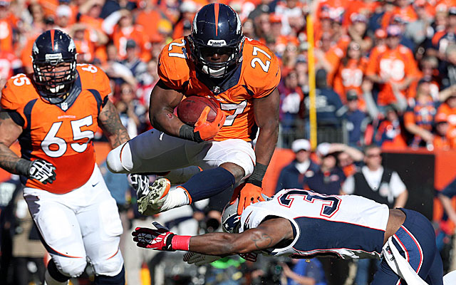 Knowshon Moreno (above), Ronnie Hillman and and Montee Ball spearhead the Broncos' ground game.  (USATSI)