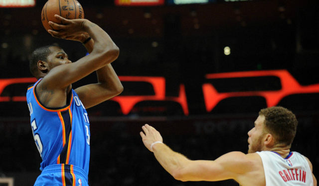 A Kevin Durant-Blake Griffin swap would shake up the landscape. (USATSI)