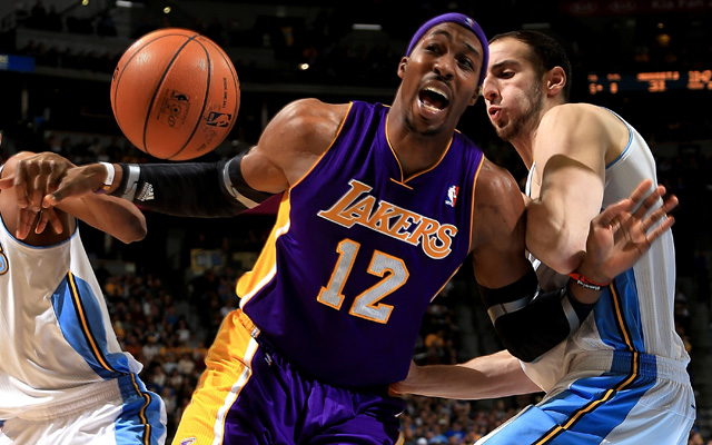 205dae780 Lakers  Dwight Howard says players trying to hurt his shoulder ...