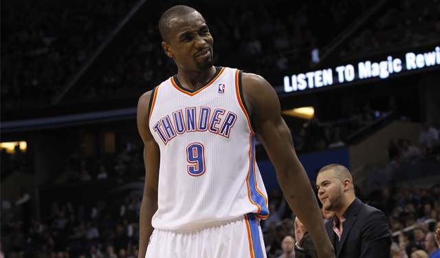 Ibaka may be the great equalizer in the West. (USATSI)