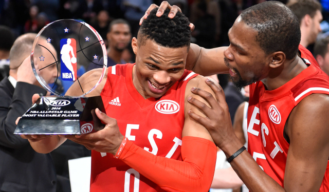 Russell Westbrook goes back-to-back.  (USATSI)