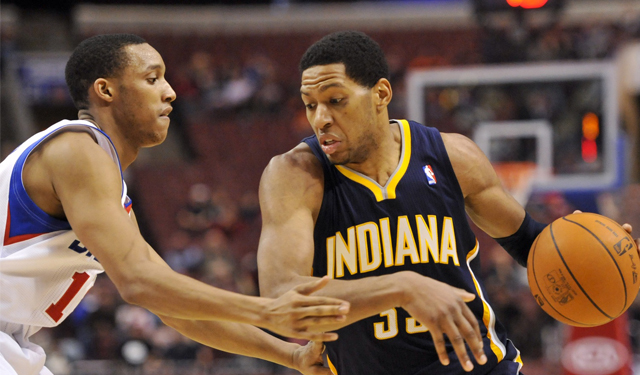 Granger and Turner are swapping places as Pacers load up. (USATSI)