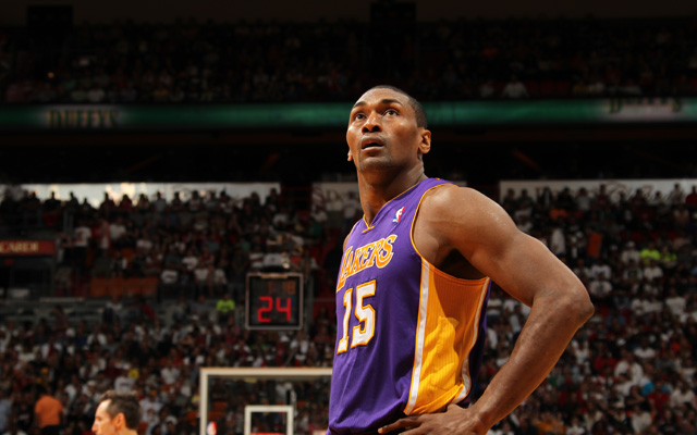 Metta World Peace reportedly will not be with LA next year.     (USATSI)