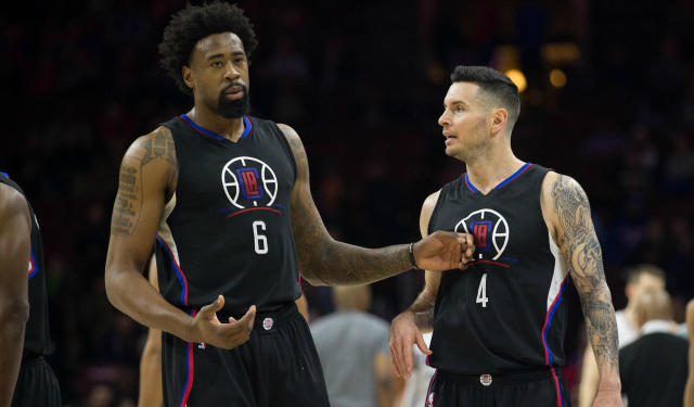 J.J. Redick has some advice for his teammate.  (USATSI)