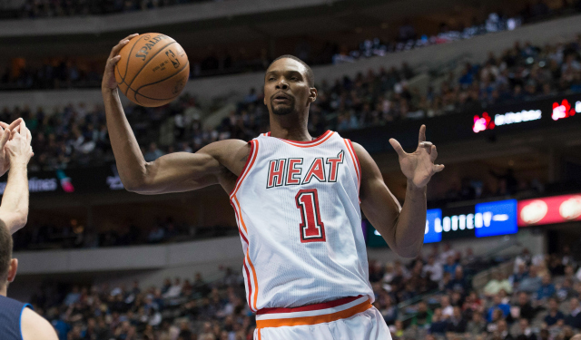 Chris Bosh could be shutting it down any minute now. (USATSI)