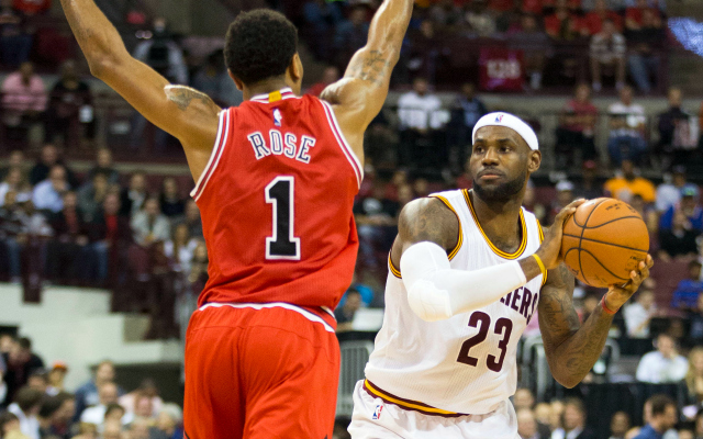 e6a3e4c99206 LeBron James to Derrick Rose   You re going to come back even ...
