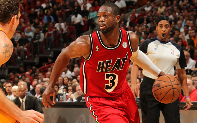 Really, Wade? 'Wow?' Really? (Getty Images) (Getty Images)