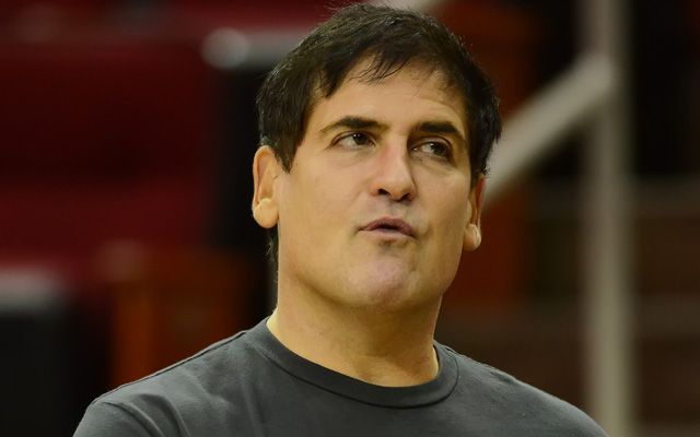 Cuban could be in hot water with the league. Again. (Getty Images) (Getty Images)