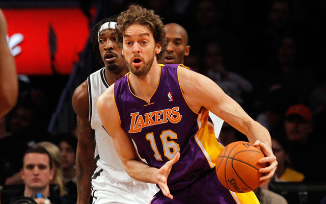 Pau Gasol may not play again in the regular season. (Getty Images) (Getty Images)
