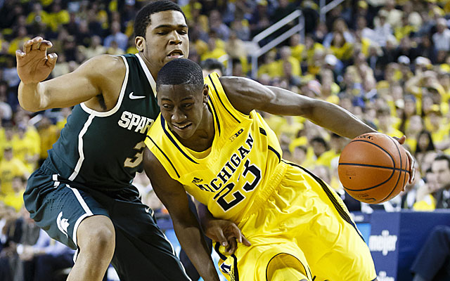 Caris LeVert, who finishes with 23 points, has become the team's second option offensively. (USATSI)